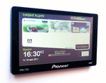 Навигатор Pioneer 752 экран 7дюймов,блютуз, ФМ-модулятор ,ав-вхо