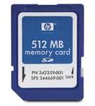 HP 512 MB Secure Digital Memory Card