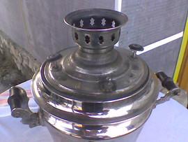Самовар на углях в форме рюмки 2