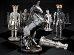 Продам эксклюзивные шахматы серебряные