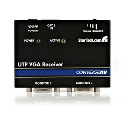 AV ресиверы StarTech.com VGA over Cat5 Receiver
