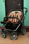Детская коляска для двойни Teutonia team alu S4