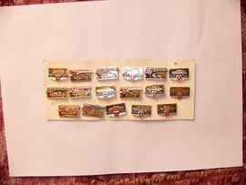 Продам коллекцию авто-значки-марки-календарики-брелки-модели.