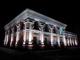 Архитектурная и декоративная подсветка зданий 2