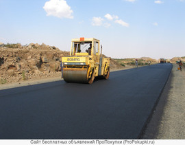 Асфальтирование дорог укладка асфальтовой крошки брусчатки 3