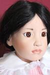 Коллекционная вениловая кукла Mai Ling от Hildegard Gunzel.