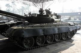 Танк T-72 в хорошем состоянии