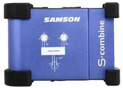 AV ресиверы Samson S-combine 2 to 1 Microphone Combiner