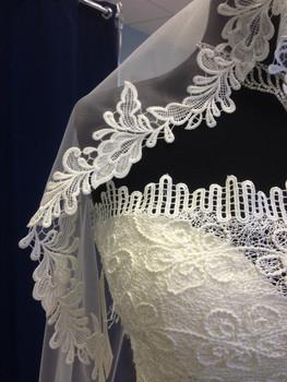 Новое свадебное платье+длинная фата 8