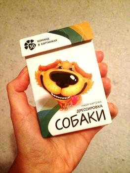 Карточки для дрессировки собак - карманный самоучитель! 3