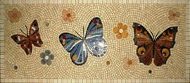 Мозаичные ковры из натурального камня 5
