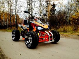 Спортивный квадроцикл на литых дисках 3