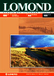 Матовая фотобумага для струйной печати, A4, 100 г/м2, 100 листов