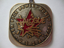 Раритет-DIALOGUE- RED ROCK-power-world tour-USSR-конец-80годов!