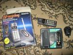 Радиотелефон Sanyo CLA-1055KM Дальнобойный до 50км