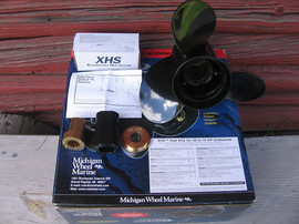 Гребные винты Michigan и Turning Point для подвесных и стационар 4
