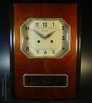 Часы настенные «Янтарь» с боем ОЧЗ Орловский Часовой Завод 1975