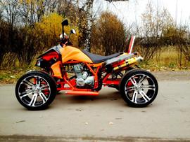 Спортивный квадроцикл на литых дисках 4