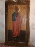 Храмовая икона из апостольского ряда Св.Апостола Фомы. Россия. X
