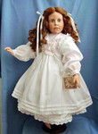 Коллекционная виниловая кукла Monica от Hildegard Gunzel