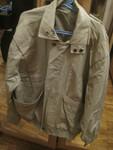 Куртка укороченная, плотный материал, хлопок, хаки, Индия