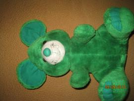 Мышь зелёная большая оригинальная большая мягкая игрушка для дет 2
