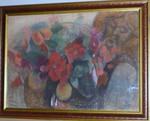 "продаю картину ""Маки"" 1978г. известного художника Рудакова М.З."