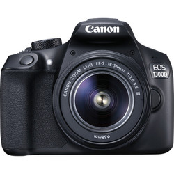 цифровые фотоаппараты Canon 1300D + EF-S 18-55 IS II