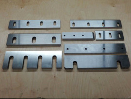 Купить гильотинные ножи с размерами 540х60х16мм, 590х60х16мм 2