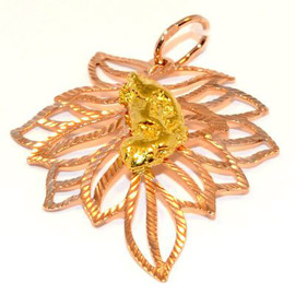 Ювелирные украшения с золотыми самородками высшей 850-950 пробы. 4
