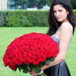 Королевский букет роз для любимой