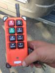 Перевод автокрана на радиоуправление.