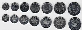 Армения набор из 7 монет