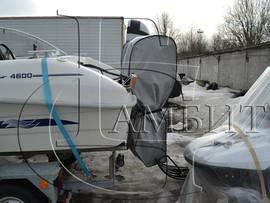 чехол на подвесной и стационарный мотор для катера 2
