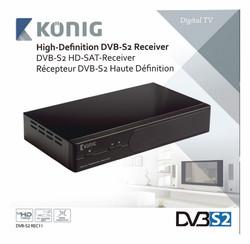 AV ресиверы Konig DVB-S2 REC11