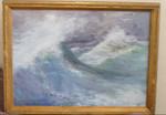 """продаю картину """"Море"""" 1952 г. известной художницы Александровско"""