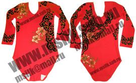 Роспись купальник костюм спортивной гимнастики фигурного катания