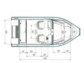 Продажа катеров Беркут MDC, организуем доставку по России 2
