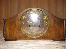 fc3b59074 Немецкие каминные часы Junghans 1942г., Купить 1920-1949 ар-деко в ...