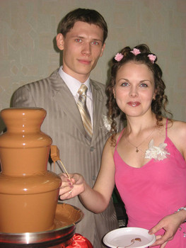 Шоколадный фонтан на Ваше торжество. 4