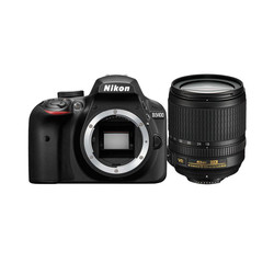цифровые фотоаппараты Nikon D3400 + 18-105mm VR + 8GB SD