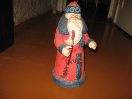 Большой Советский Дед Мороз. Папье-маше 4