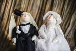 Свадебные кролики. Куклы Тильды ручной работы