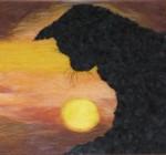 Картины из шерсти (живопись шерстью)
