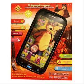 Детский смартфон Маша и медведь 2