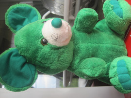 Мышь зелёная большая оригинальная большая мягкая игрушка для дет 8