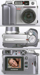 Цифровой olympus c-4000, 4-x zoom