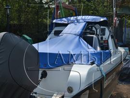 тент транспортировочный на катер, яхту. 2