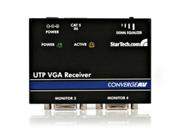 AV ресиверы StarTech.com VGA Cat5 Receiver