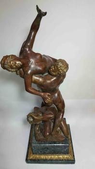Бронзовая статужтка Похищение Сабинянок.70 см. Выбрать подарок 4